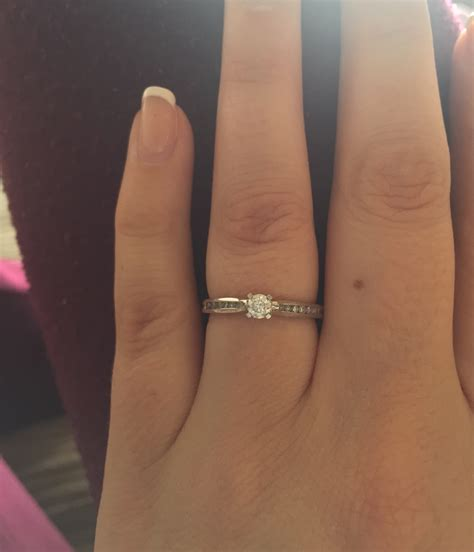 Wedding Ring Small by Anyone With Small Engagement Rings Weddingbee