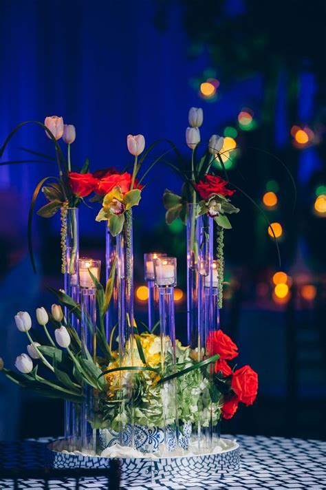 245 Best Fabulous Centerpieces Images On Pinterest Candle Centerpieces For Birthday