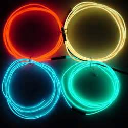 wire lights learn about el electroluminescent wire at diy fx