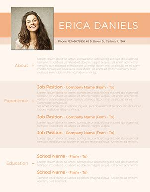 Fancy Resume Templates by Fancy Resume Template Resume Ideas