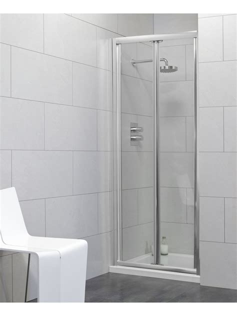 Shower Door 900 Cello 900 Bifold Shower Door Adjustment 840 890mm Shower Doors Shower Enclosures Trays