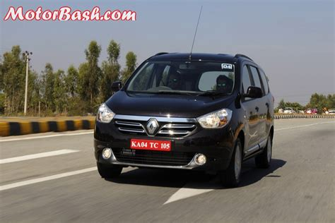renault lodgy renault lodgy mpv road test review engine features details