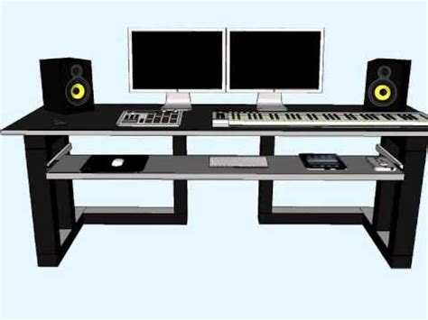 home studio desk plans home studio desk design new home studio desk design home
