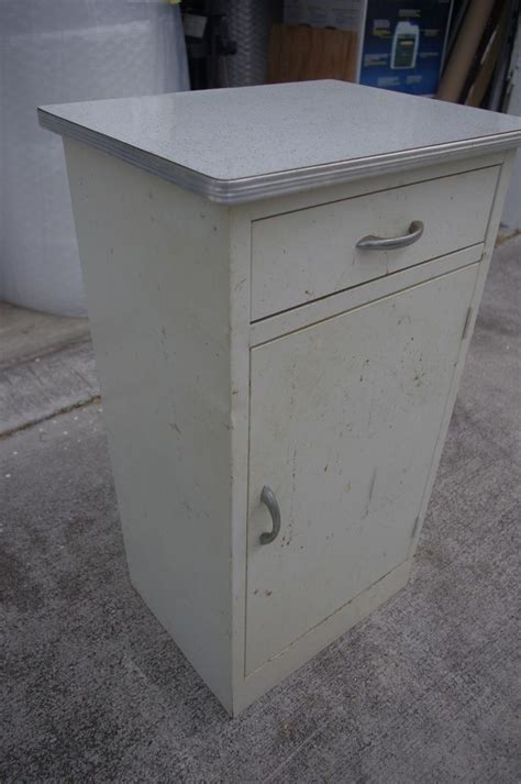 Antique Metal Kitchen Cabinets Vintage Metal Kitchen Cabinet Counter