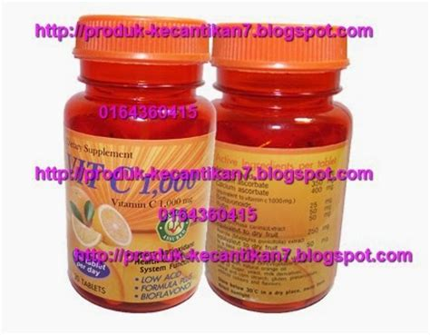 Harga The Shop Vitamin C acorbic vitamin c 1000mg berkesan dan murah 0164360516
