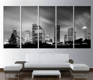 large canvas houston wall print large by