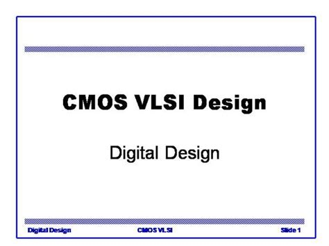 powerpoint templates for vlsi cmos vlsi design authorstream