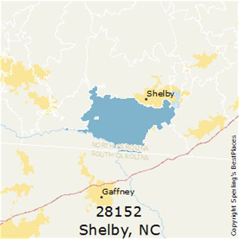 shelby carolina map best places to live in shelby zip 28152 carolina