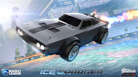Hotwheels Reguler Charger The Fate Of The Furius fate of the furious premium dlc for rocket league lets you