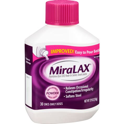 miralax benefiber and stool softener gastroenterology miralax 20 4 oz 34 doses ezneeds