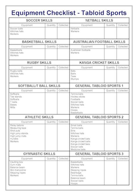 equipment checklist equipment checklist marine services