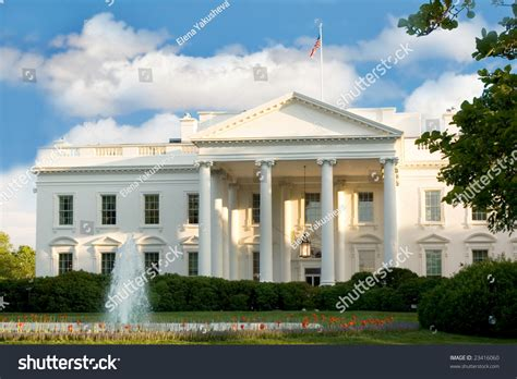 color house nyc white house nyc usa stock photo 23416060