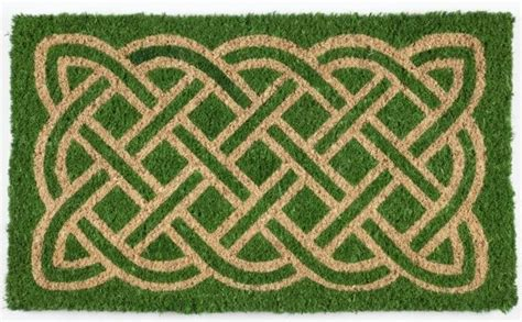 Celtic Doormat celtic woven coconut fiber doormat celtic woven coconut fiber doormat detail page