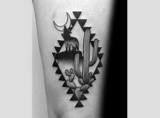 60 Coyote Tattoos For Men - Canis Latrans Design Ideas Irish Elk