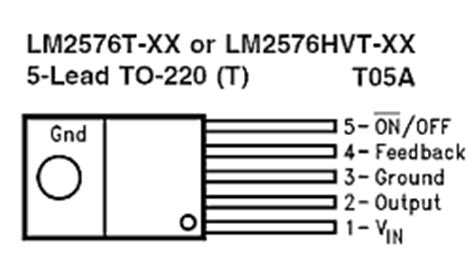 Lm2576 Lm2576s 50 Lm2576s Adj To 263 Lm2576 Adj Voltage Regulator step buck voltage regulators with lm2576 lm2576hv