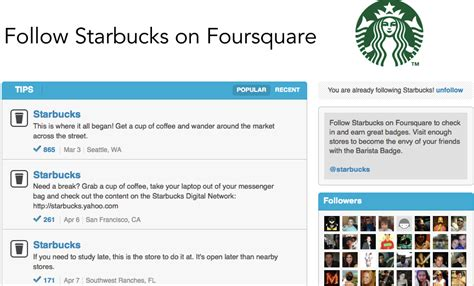 7 Brands With Popular Pages by How To Create A Foursquare Brand Page Cnet