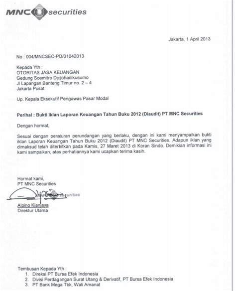 tanggal publikasi laporan keuangan saham ok