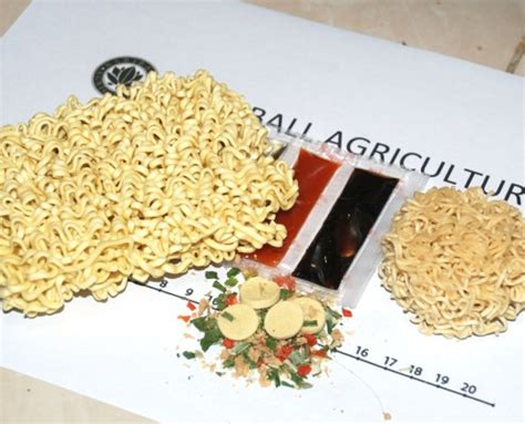 Mie Babi Organic instant noodles bariball agriculture