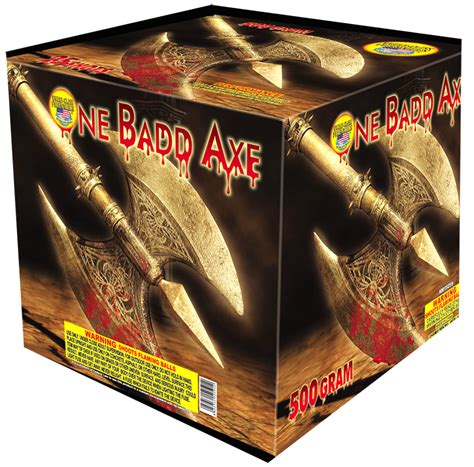 one badd axe world class one badd axe 500 gram aerial
