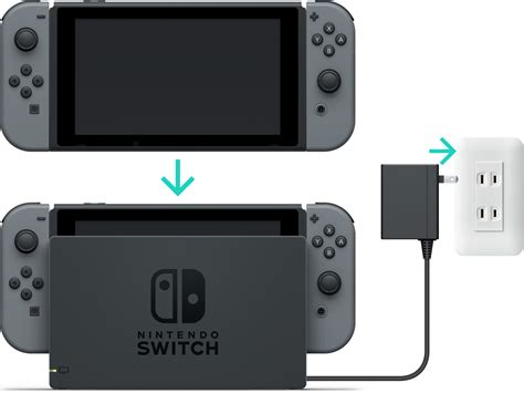 console switch how to charge the nintendo switch console nintendo support