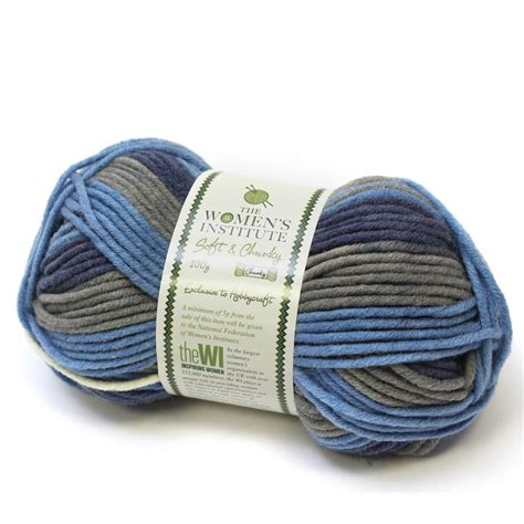 Soft A Crylic Yarn womens institute soft chunky yarn different colour acrylic