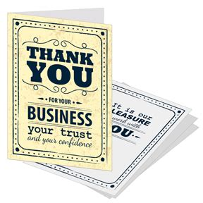 business card wording quotes thank you for customers quotesgram