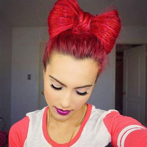 hairstyle bun design 21 bow bun hairstyle ideas designs design trends