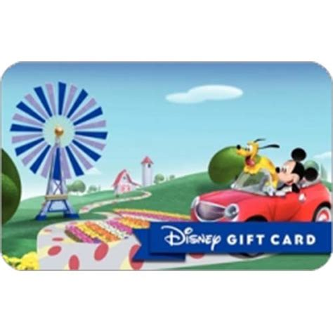 Gift Card Spin - your wdw store disney collectible gift card mickey goes for a spin