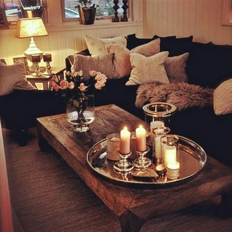 Coffee Table Accents | 20 super modern living room coffee table decor ideas that