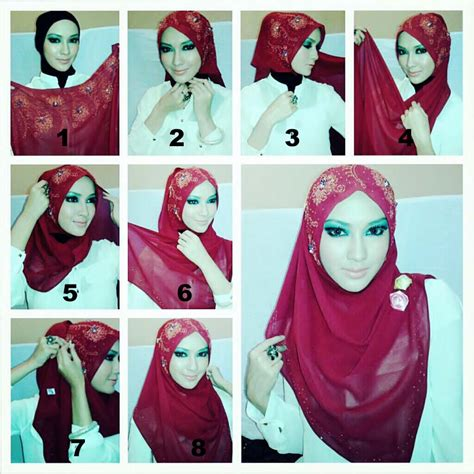 tutorial hijab youtube 2015 modern hijab tutorial arabian style hijabiworld