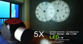 wall projection clock ceiling projection clock analog led
