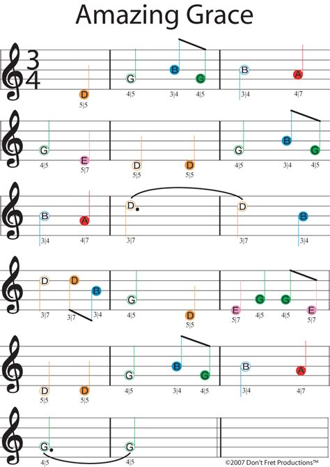 song guitar easy guitar sheet for amazing grace featuring don t