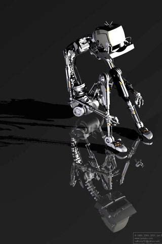 black robot wallpaper download black robot mobile wallpaper mobile toones