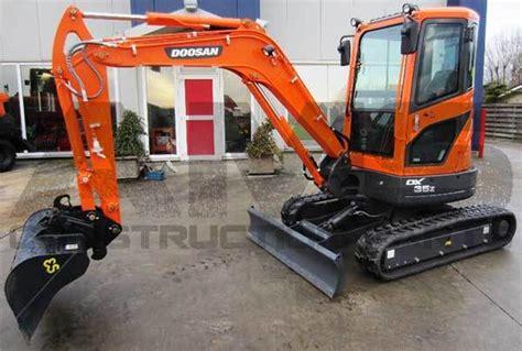 doosan dx35z excavator parts