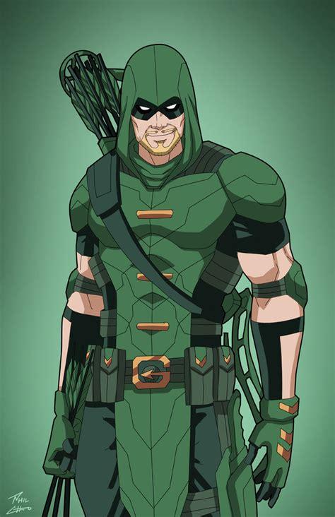 Dc Comics Green Arrow 2 green arrow earth 27 commission by phil cho arrow flash green arrow arrow and