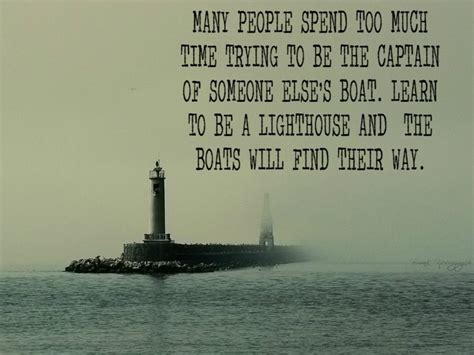 captain of a boat quotes many people spend too much time trying to be the captain