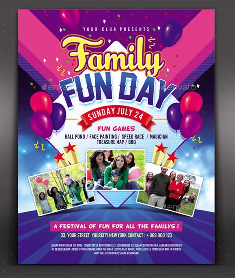 family day flyer template 30 summer c flyer psd templates free premium designyep