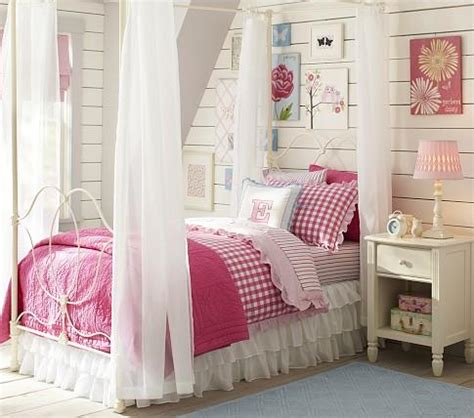 Canopy Bed For Kid Iron Bed Canopy Pottery Barn
