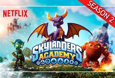 Kaos Yes Crash netflix skylanders academy season 2 trailer is here and looks every bit as as season 1