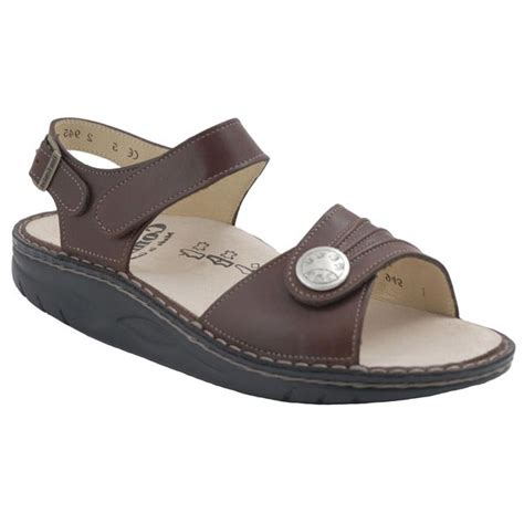 Finn Comfort Sausalito by Finn Comfort Sausalito Leather Soft Footbed Saddle