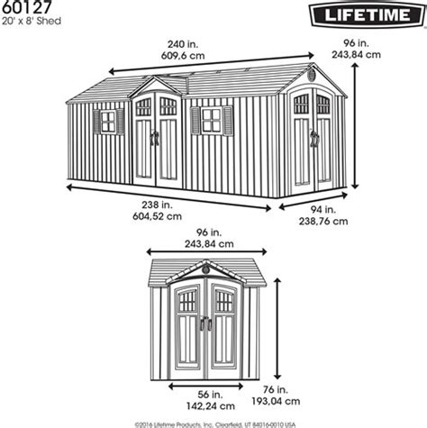 Lifetime Shed Manual by 100 Lifetime 10x8 Shed Manual Roofassembly Jpg