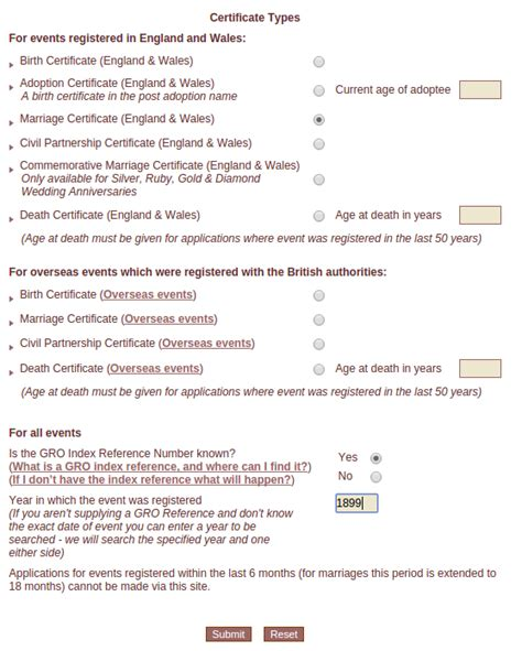 Wales Marriage Records Order A Marriage Certificate For Genealogy In Wales