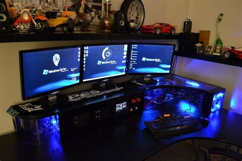 The Desk Is Really Cool In Desk Builds Are Like The Cool Gaming Desks