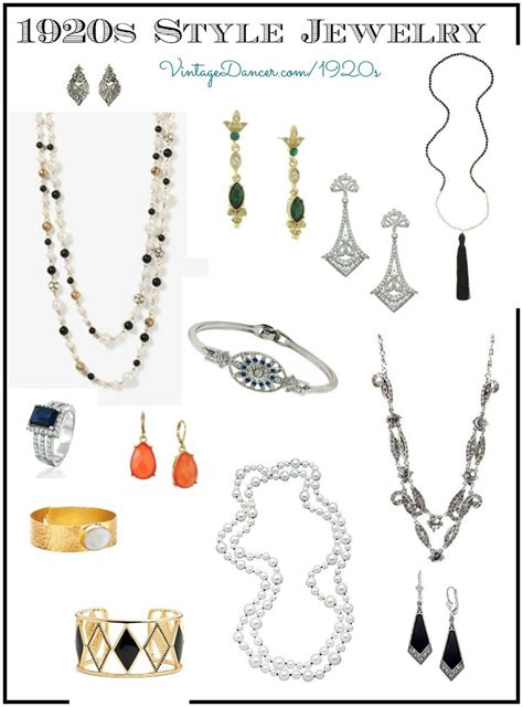 Ladies 1920s Jewelry Styles Fashion For Flappers | ladies 1920s jewelry styles fashion for flappers 1920s