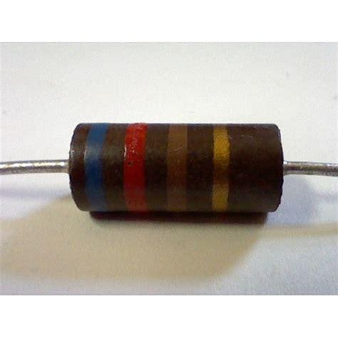 Resistor R18w 620 Ohm Carbon cs r68 resistor 620 ohm 5 2w carbon composition