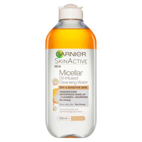 Garnier Micellar Water 400 Ml garnier micellar infused water 400ml health thehut