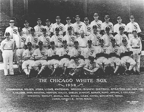 thedeadballera 1938 chicago white sox team photo