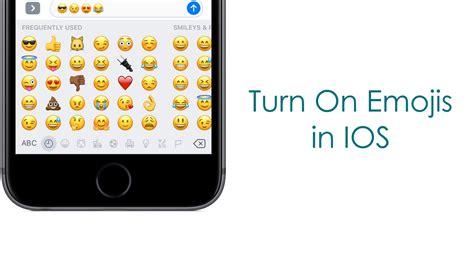 how to turn on emojis in ios 10 using iphone 7 plus urdu