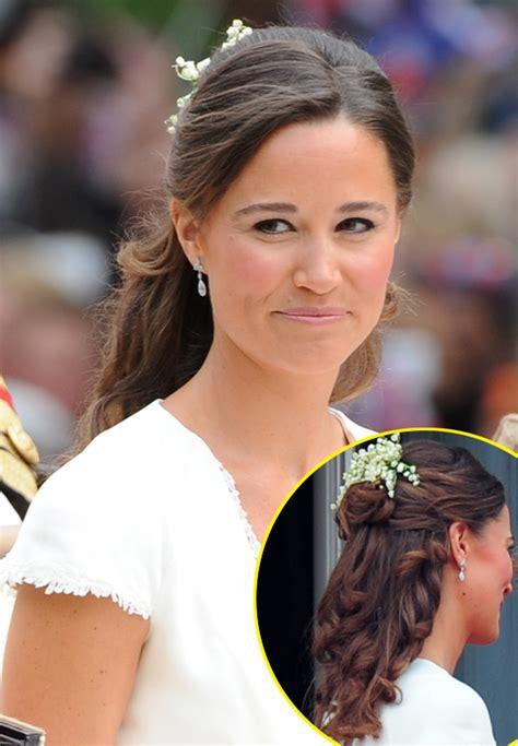 kate middleton wedding hair tutorial pippa middleton s royal wedding hair how you can create