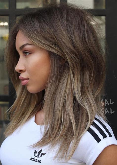 Black Hairstyles For Hair Oval Mid Length by 51 Medium Hairstyles Shoulder Length Haircuts For